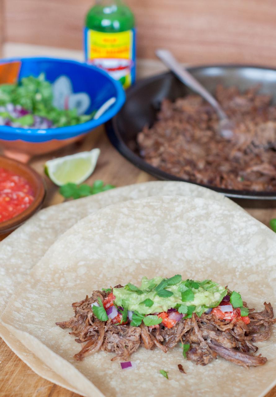 Beef Barbacoa Tacos - GastroSenses